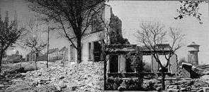 Waldschule nach Luftangriff 1943