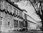 Pestalozzischule 1949 - Erster Bauabschnitt